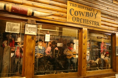 Ted Hustead's Cowboy Orchestra in Wall Drug, Wall, South Dakota