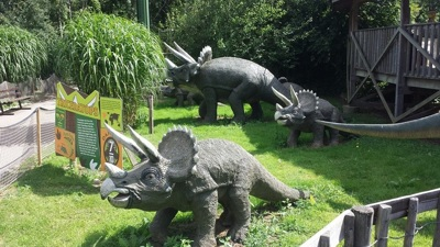 Triceratops at Gulliver's Dinosaur and Farm Park